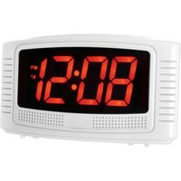 Acctim Vian LCD Alarm Clock - White