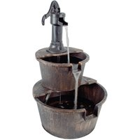 Robert Dyas 2-Tier Barrel Fountain