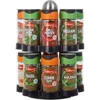 Schwartz Rotating 16 Jar Spice Rack