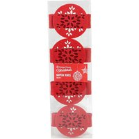 Robert Dyas Felt Napkin Rings - Pack of 4