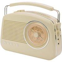 Konig Retro DAB Digital Radio - Cream