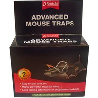 Rentokil Advanced Mouse Traps - Pack of 2