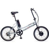 Viking Easy Street Electric Bike with 20-Inch Wheels - Silver