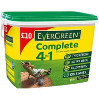 Evergreen Complete 4-in-1 Lawn Feed, Weed & Moss Killer