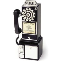 Wild And Wolf Wild & Wolf Diner Telephone - Black