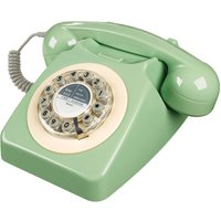 Wild And Wolf Wild & Wolf 1960s Design 746 Corded Telephone- Green