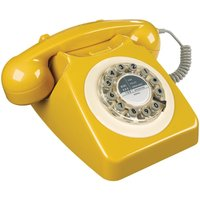 Wild And Wolf Wild & Wolf 1960s Design 746 Corded Telephone - Mustard