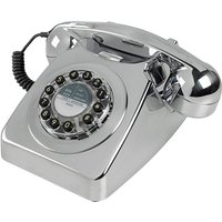 Wild And Wolf Wild & Wolf 1960s Design 746 Corded Telephone - Chrome