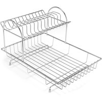 Addis 2-Tier Dish Drainer - Stainless Steel
