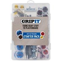 Grip It GripIt Plasterboard Stud Wall Fixing Starter Kit