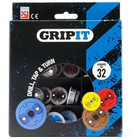 Grip It Pack of 32 Assorted Plasterboard Fixings
