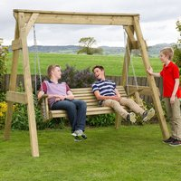 Zest4Leisure Hollywood Wooden Swing Seat