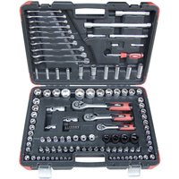 Hilka 120 Piece Socket Tool Kit Metric Pro Craft