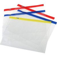 Ryman A4 Zip Bags - Pack of 5