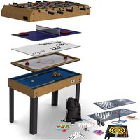 Riley 21-In-1 4ft Multi Game Table