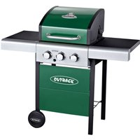 Outback Meteor 3-Burner Gas BBQ - Green