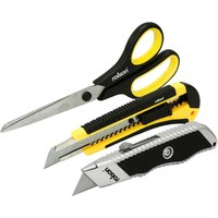 Rolson 3 Piece Cutting Tool Set