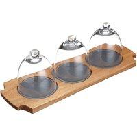MasterClass Artesa 3-Dome Serving Set