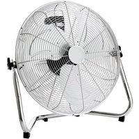 Daewoo 14 inch High Velocity Floor Fan - Chrome