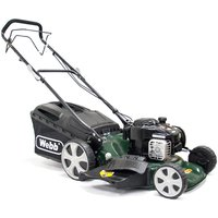 Webb R18HW 46cm Self-Propelled High-Wheel Petrol Rotary Mower