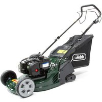 Webb RR17SP 43cm Self-Propelled ABS-Deck Rear-Roller Rotary Petrol Mower