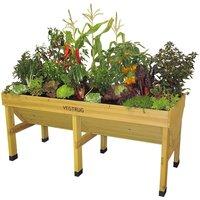 VegTrug Medium Classic Raised Planter - Natural