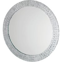 Croydex Meadley Mosaic Surround Circular Mirror