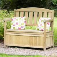 Zest4Leisure Caroline Garden Storage Bench