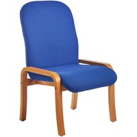 Dams Yealm Armless Reception Chair - Blue