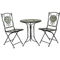Charles Bentley 2-Seater Mosaic Bistro Set
