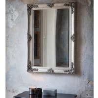 Gallery Abbey Rectangular Mirror - Silver