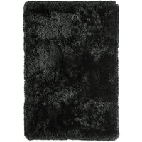 Asiatic Plush Shaggy Rug, 200 X 300cm - Black
