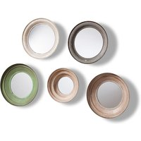 Gallery Crosby Circular Mirrors - Set of 5