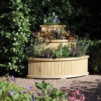 Rowlinson Marberry Corner Cascade Garden Planter