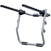 Menabo Biki Rear-Mounted Bike Rack for 3 Bikes - Silver
