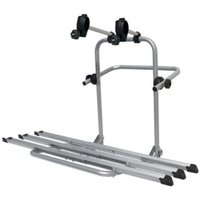 Menabo Boa 4x4 Spare Wheel Rear-Mounted Bike Rack for 3 Bikes - Silver