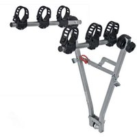 Menabo Marius Towbar Bike Rack for 3 Bikes - Silver