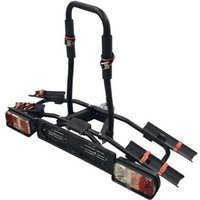 Menabo Naos Eco Towbar Bike Rack for 2 Bikes - Black