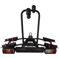 Menabo Naos Tilting Towbar Bike Rack for 2 Bikes - Black