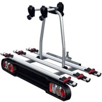 Menabo Race Towbar Bike Rack for 3 Bikes - Silver
