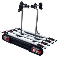 Menabo Race Towbar Bike Rack for 4 Bikes - Silver