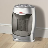 Daewoo 1500W PTC Oscillating Fan Heater