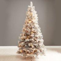7ft Robert Dyas Norfolk Grey Shimmer Christmas Tree
