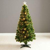5ft Robert Dyas Sandringham Fibre Optic Christmas Tree