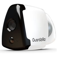 Guardzilla Indoor-Outdoor Wireless HD Smart Security Camera with Night Vision - White