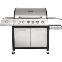 Charles Bentley 7-Burner Premium Gas BBQ - Grey