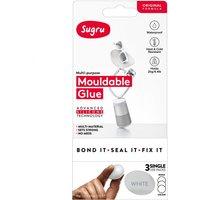Sugru Single Use 3 Pack - White