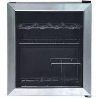 Russell Hobbs RHGWC3SS 47L Glass Door Drinks Cooler -
