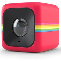 Polaroid Cube+ Mini Lifestyle Action Camera with WiFi - Red