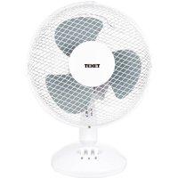 Texet 9-Inch Desk Fan - White